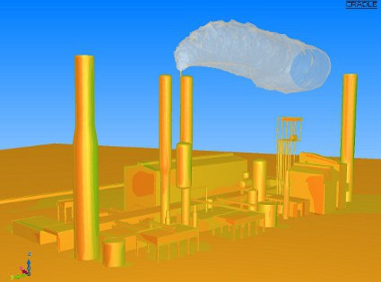 0.1%-os szén-dioxid koncentráció az ammóniaüzem feletti légtérben