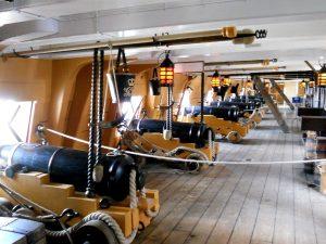 HMS Wictory (1765), Lord Nelson zászlóshajójának felső ágyúfedélzete