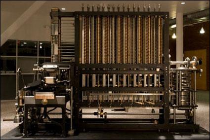 Babbage tervei alapján épített differenciálgép. Foto: Marcin Wichary