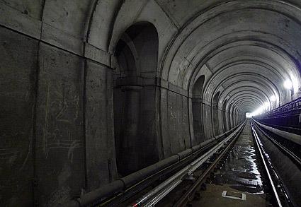 A Temze alagút ma