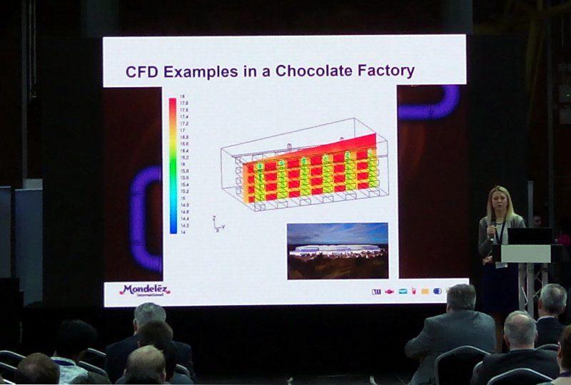 A CFD szimulációt a raktárak hőmérséklet eloszlásának vizsgálatához is használják