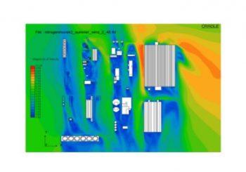 Szén Dioxid Terjedés Szimulációja a Péti Nitrogénműveknél