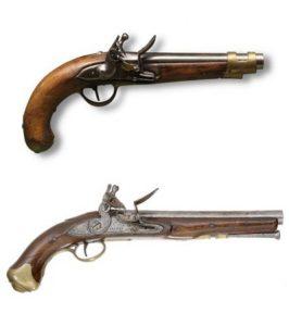 Kovás pisztolyok