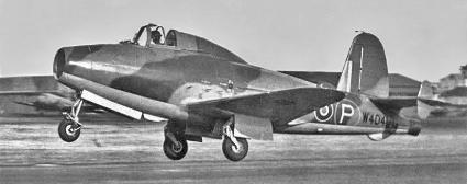 Gloster-Whittle, az első brit sugárhajtású repülőgép