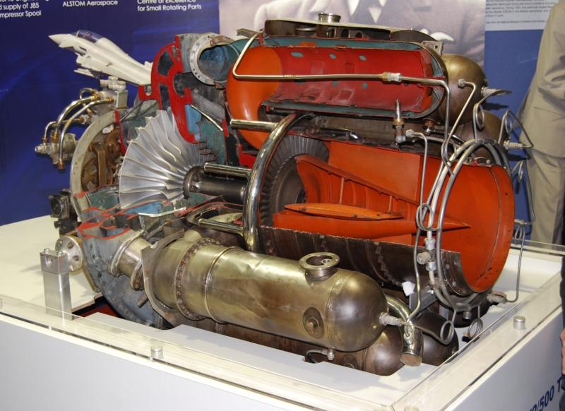 A W2/500-as sugárhatómű metszete 1942-ből, kattintásra nagyítható Forrás: lutterworthmuseum.com