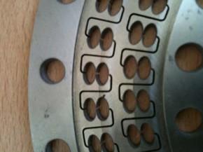 Hagyományos CPC gép ellipszis alakú cellái